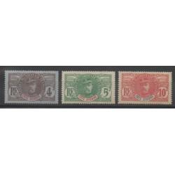 Côte d'Ivoire - 1906 - No 23/25 - Neuf avec charnière