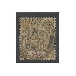 Côte d'Ivoire - 1900 - No 17 - Oblitéré