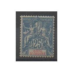 Côte d'Ivoire - 1900 - No 16 - Neuf avec charnière