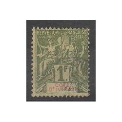 Côte d'Ivoire - 1892 - No 13 - Oblitéré
