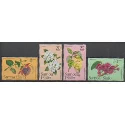 Samoa - 1975 - No 349/352 - Fleurs