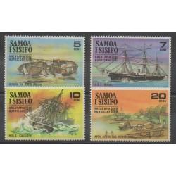 Samoa - 1970 - Nb 262/265 - Boats