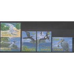 Samoa - 2004 - Nb 975/979 - Birds