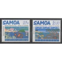 Samoa - 2003 - No 955/956 - Environnement