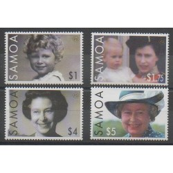 Samoa - 2006 - Nb 1008/1011 - Royalty