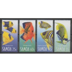 Samoa - 2007 - Nb 1020/1023 - Sea animals