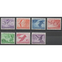 Liechtenstein - 1939 - No PA17/PA23 - Oiseaux - Neuf avec charnière