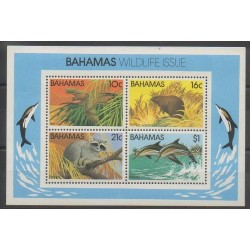 Bahamas - 1982 - Nb BF37 - Endangered species - WWF
