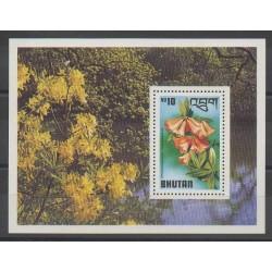 Bhutan - 1976 - Nb BF66 - Flowers
