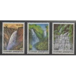 Grèce - 1988 - No 1675/1677 - Sites - Environnement
