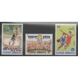 Greece - 1987 - Nb 1629/1631 - Various sports