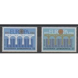 Grèce - 1984 - No 1533/1534 - Europa
