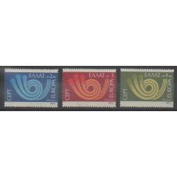 Greece - 1973 - Nb 1125/1127 - Europa