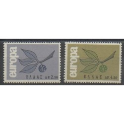 Grèce - 1965 - No 868/869 - Europa