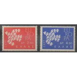 Grèce - 1961 - No 753/754 - Europa