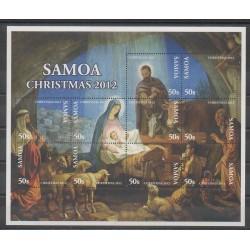 Samoa - 2012 - Nb 1063/1072 - Christmas
