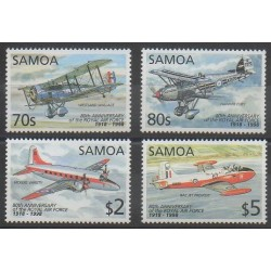 Samoa - 1998 - No 870/873 - Aviation