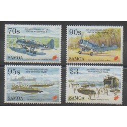 Samoa - 1995 - No 814/817 - Seconde Guerre Mondiale