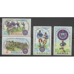 Samoa - 1993 - No 759/762 - Sports divers