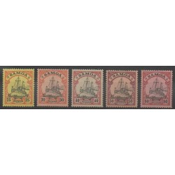 Samoa - 1900 - No 46/50 - Neuf avec charnière