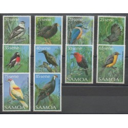Samoa - 1988 - No 658/667 - Oiseaux
