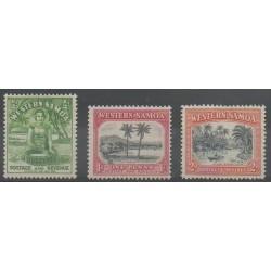 Samoa - 1935 - No 121/123