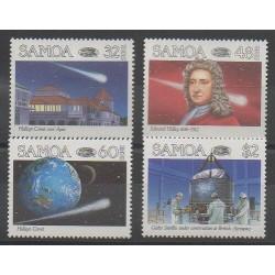 Samoa - 1986 - Nb 603/606 - Astronomy