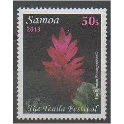 Samoa - 2013 - Nb 1098 - Flowers