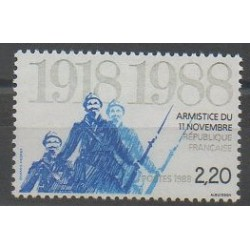 France - Poste - 1988 - Nb 2549 - Various Historics Themes