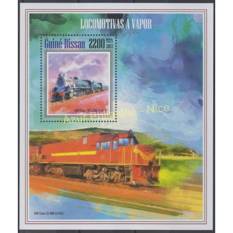 Guinée-Bissau - 2013 - No BF 938 - Trains
