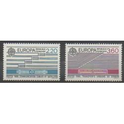 France - Poste - 1988 - No 2531/2532 - Télécommunications - Europa