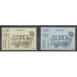 France - Poste - 1987 - No 2468/2469 - Transports