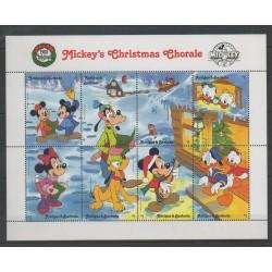 Antigua - 1988 - No 1122/1129 - Walt Disney - Musique