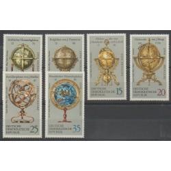 Allemagne orientale (RDA) - 1972 - No 1478/1483 - Astronomie