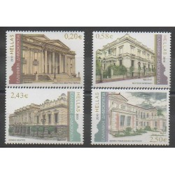 Grèce - 2010 - No 2544/2547 - Monuments