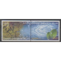 Greece - 2001 - Nb 2056/2057 - Europa