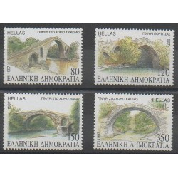 Greece - 1997 - Nb 1924/1927 - Bridges