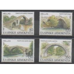 Grèce - 1997 - No 1924/1927 - Ponts