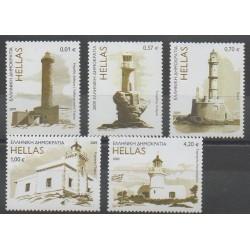 Grèce - 2009 - No 2488/2492 - Phares