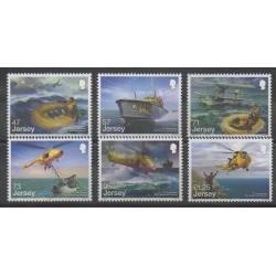Jersey - 2016 - No 2081/2086 - Hélicoptères