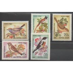 Russie - 1981 - No 4838/4842 - Oiseaux
