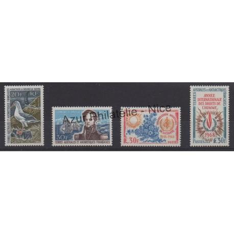 Timbres - Terres Australes et Antarctiques Françaises - Poste - 1968 - No 24/27