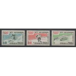 Togo - 1960 - No 300/302 - Jeux olympiques d'hiver