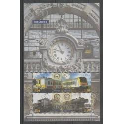 Belgium - 2008 - Nb CP 529/532 - Trains