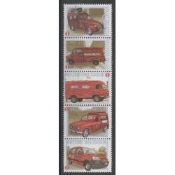 Belgium - 2009 - Nb 3904/3908 - Cars - Postal Service