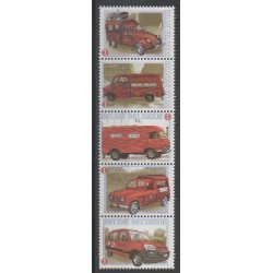 Belgique - 2009 - No 3904/3908 - Voitures - Service postal