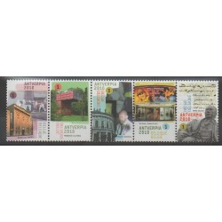 Belgium - 2009 - Nb 3885/3889 - Philately - Art