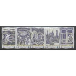 Belgium - 2009 - Nb 3869/3873 - Monuments