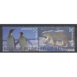 Belgique - 2009 - No 3866/3867 - Polaire