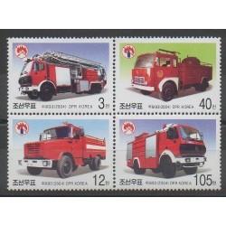 NK - 2004 - Nb 3364/3367 - Firemen